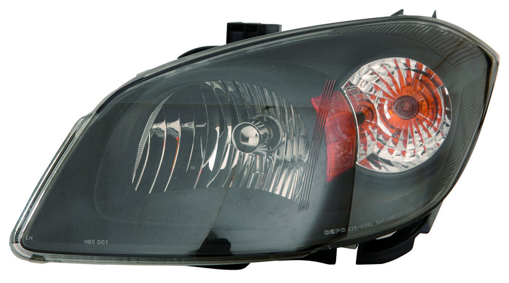 Chevy Cobalt 05-10 Headlight Unit Black Bezel - ackauto