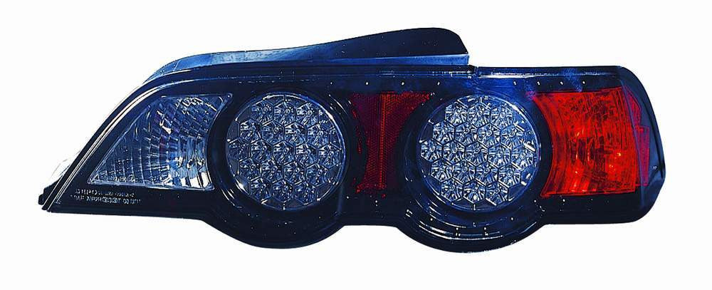 Acura RSX 02-04 Tail Light LED Black - ackauto