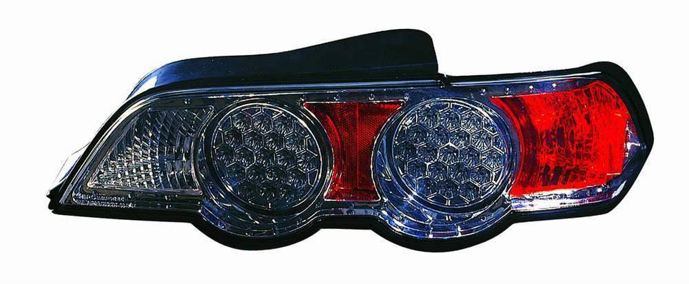 Acura RSX 02-04 Tail Light LED Chrome - ackauto