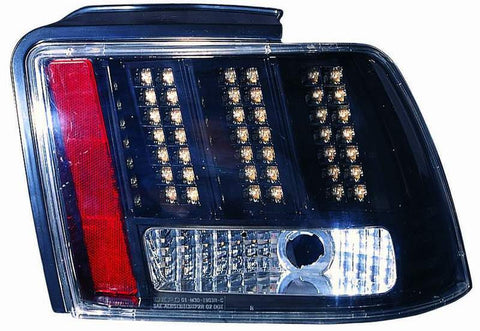 Ford Mustang 99-04 Tail Light LED Black Type - ackauto