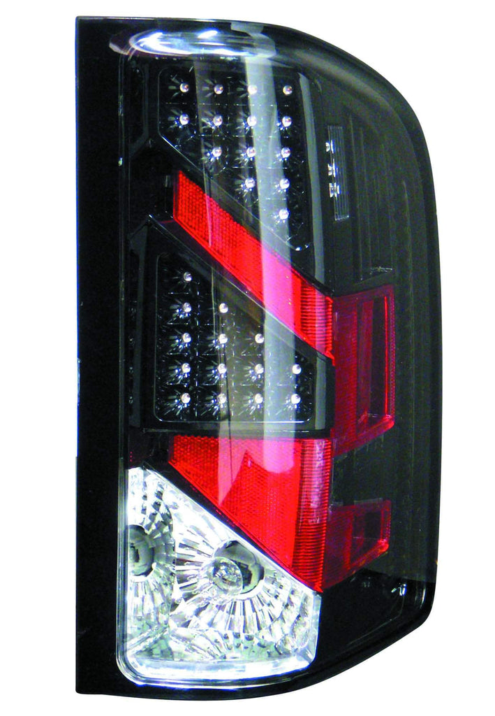 Chevy Silverado 07-13 Tail Light Assembly LED Black R=L - ackauto