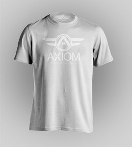 Signature Axiom Double White Tee