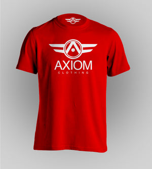 Signature Axiom Red Tee