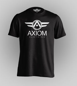 Signature Axiom Black Tee