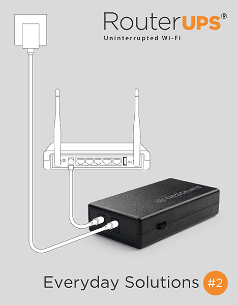 RouterUPS - Power Backup for your WiFi Router