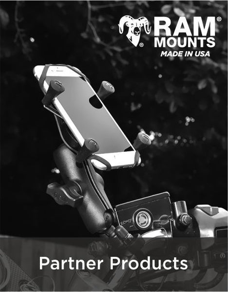 Partner Products - RAM Mounts - Elegant Phone Mounting Solutions for your motorbike