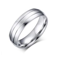Simple Design Stainless steel ring