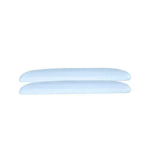 Magasin Aquamarine Memory Foam Ultra Slim Stomach Sleeper Pillow - 15x24x2.5 inches