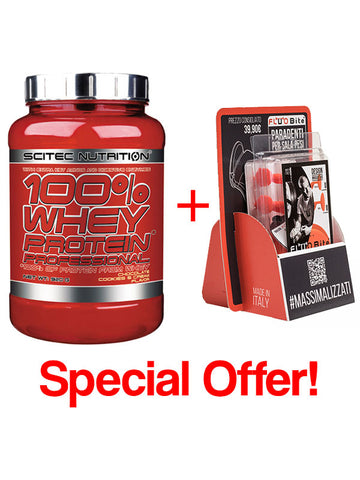 Special Offer: FLUOBITE + 100% Whey Protein Professional