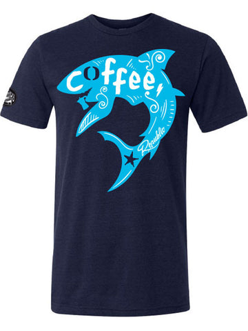 Caffè e Creatina triblend competitor tee SS17 - Coffee & Waves - Navy
