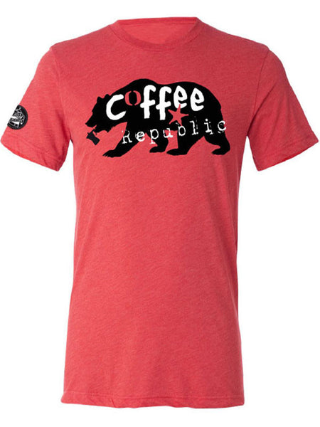 Caffè e Creatina triblend competitor tee SS17 - Red Bear