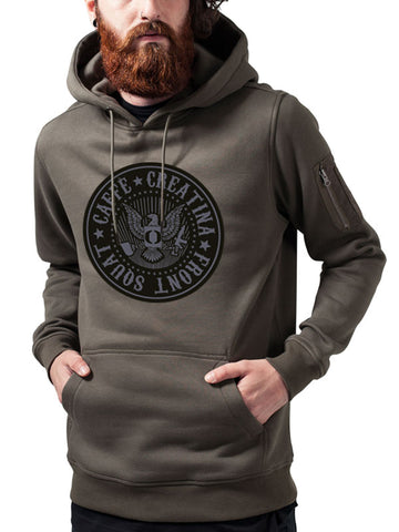 Caffè e Creatina sweatshirt - Assault Hoodie - Male|Caffè e Creatina felpa - Assault Hoodie - Uomo