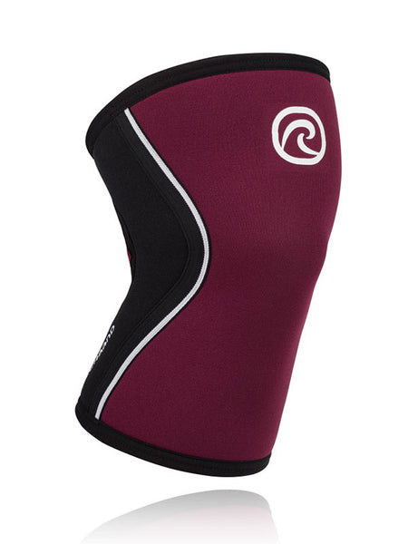 Rehband RX Knee Support 5 mm - Burgundy