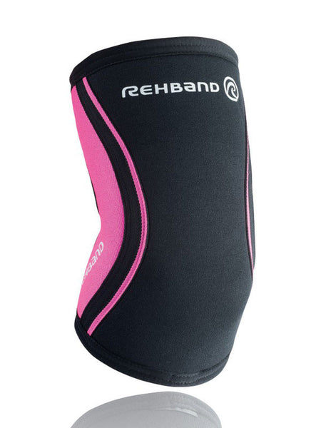 Rehband RX Elbow Support 5 mm - Black/Pink