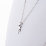 Cute Dangling Cat Charm Necklace