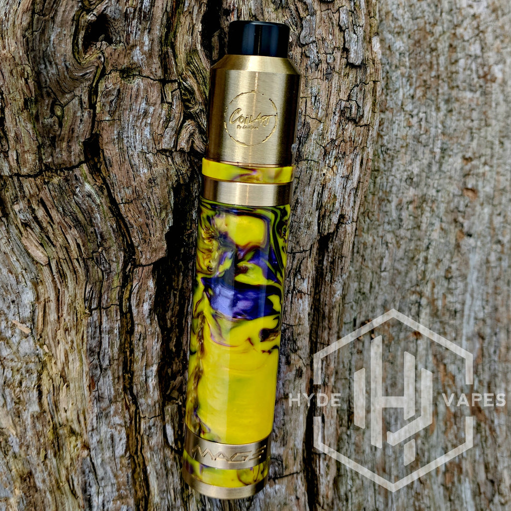 CoilArt Mage Mech Tricker Kit Resin Multicolor - Hyde Vapes