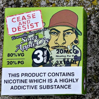 Cease and Desist - Sour Apple O's
