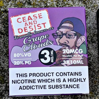 Cease and Desist - Grape Clouds