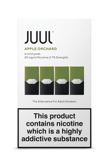 JUUL Pod 4-Pack Apple Orchard AVAILABLE IN STORE