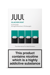 JUUL Pod 4-Pack Glacier Mint AVAILABLE IN STORE