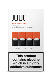 JUUL Pod 4-Pack Mango Nectar AVAILABLE IN STORE