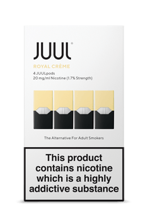 JUUL Pod 4-Pack Royal Creme AVAILABLE IN STORE