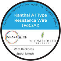 Crazy Wire - Kanthal A1 Wire - Hyde Vapes