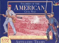 #7208 Confederate Artillery Team (American Civil War 1861-1865)