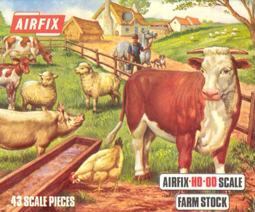 #1704 Airfix Farm Stock