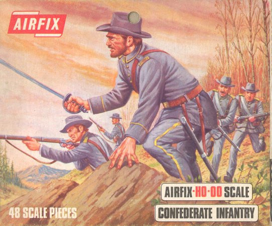 #1713 Confederate Infantry (American Civil War)