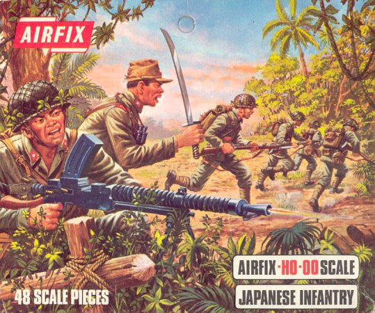 #1718 Japanese Infantry (WWII)