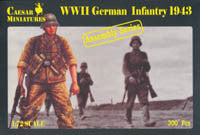 #7711 German Infantry (WWII)
