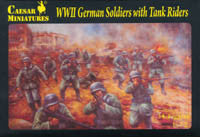#77 German Soldiers with Tank Riders