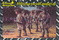 #004 BFS German Army with Camouflage Cape (WWII)