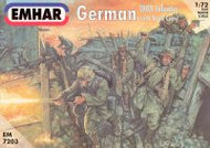 #7203 German WWI Infantry with Tank Crew