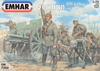 #7204 German WWI Artillery