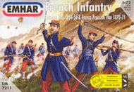 #7211 French Infantry 1854-1871
