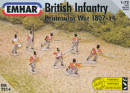 #7214 British Infantry (Peninsular War 1807-1814)