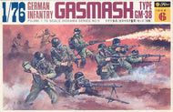 #76028 German Infantry with Gasmasks (WWII)