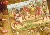#8020 Hannibal's Carthaginians - African Infantry