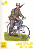 #8119 WWII German Bicyclists