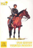 #8120 WWII German Mounted Infantry