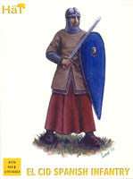 #8176 El Cid Spanish Infantry