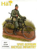 #8277 WW2 German Bicycle Infantry