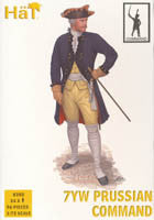 #8282 7YW Prussian Infantry Command