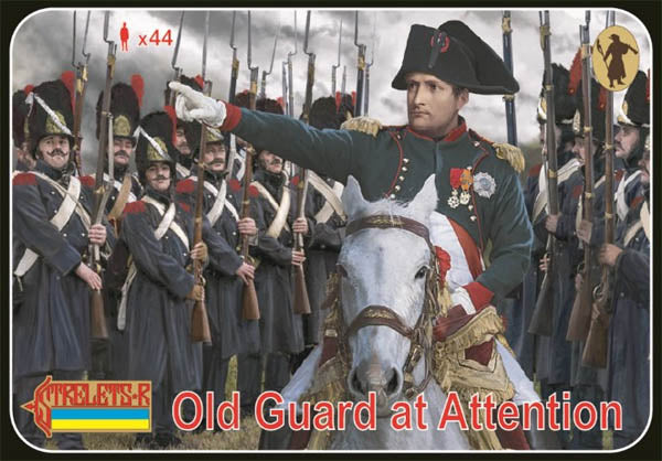 #171 Old Guard At Attention (Napoleonic)