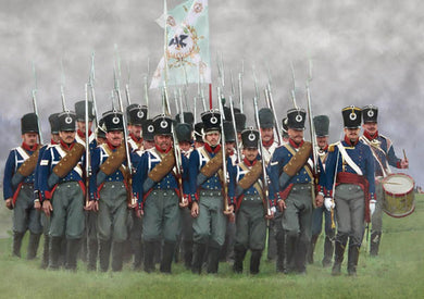 #174 Prussian Infantry on the March (Napoleonic)