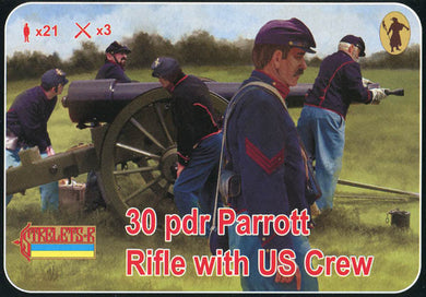 #182 30pdr Parrott Rifle with US Crew
