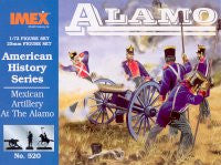 #520 Mexican Artillery (Battle of the Alamo)
