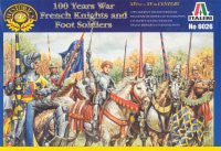 #6026 French Knights and Foot Soldiers